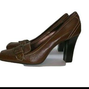 COLE HAAN • Nike Air Leather Pumps Heels